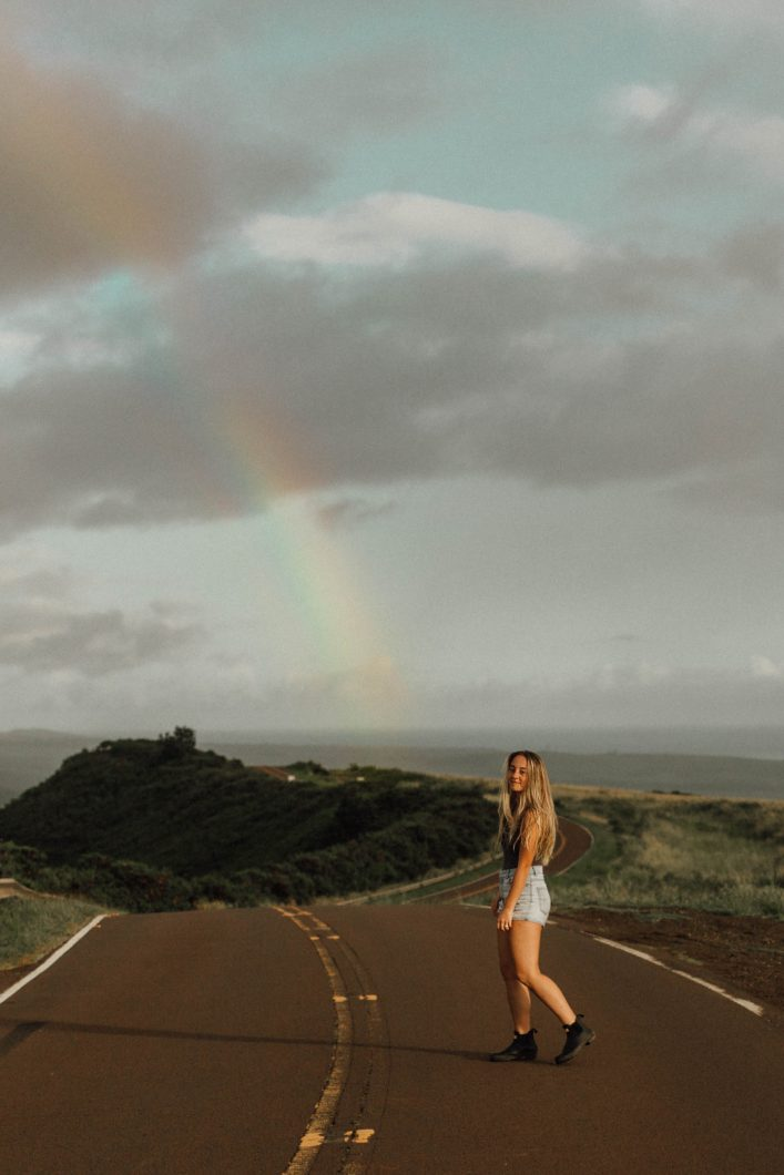 Morgan Made Photo Kauai rainbow